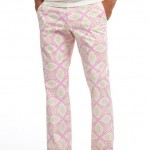 Wild BONOBOS Pink Medallion Print Washed Chinos, Candy Dunns