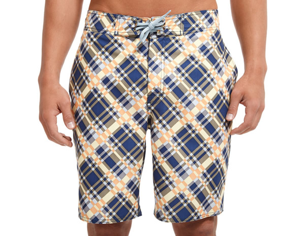 BONOBOS Superplaid Board Shorts