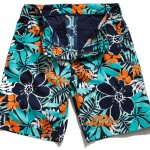 BONOBOS Pollenators, Men's Floral Print Shorts