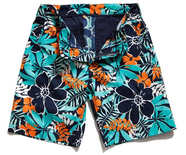 bonobos pollenators floral print shorts