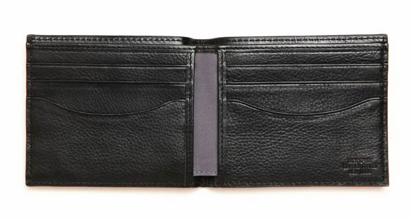 jack spade come in we're open wallet