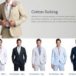 Bonobos Men's Lightweight Cotton Summer Suits