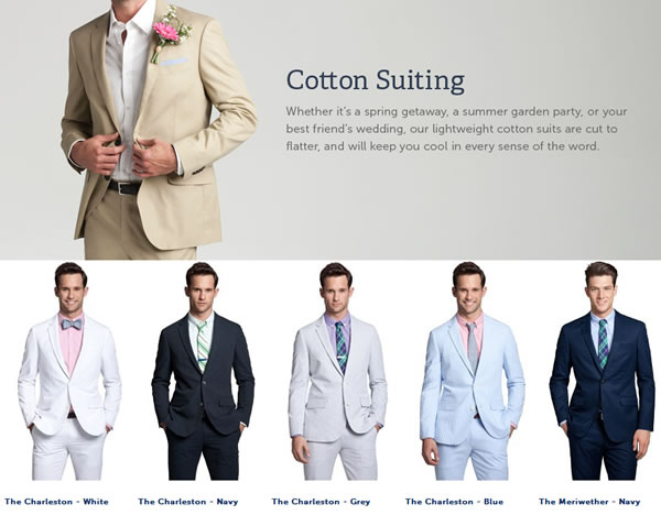 bonobos mens lightweight cotton summer suits