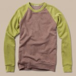 Alternative Apparel Men's Color-Block Champ Sweatshirt