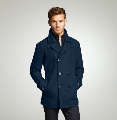 mens kenneth cole peacoat