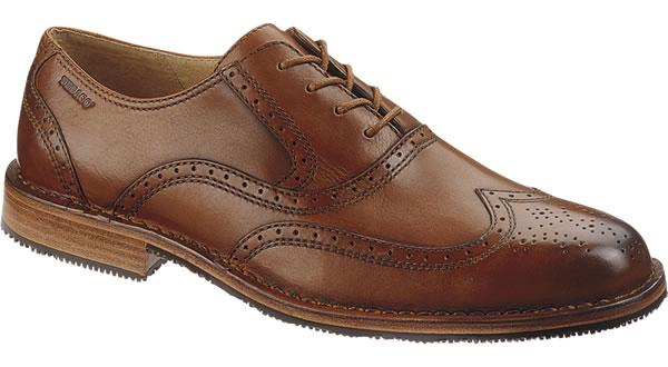 sebago brattle mens dress shoe british tan
