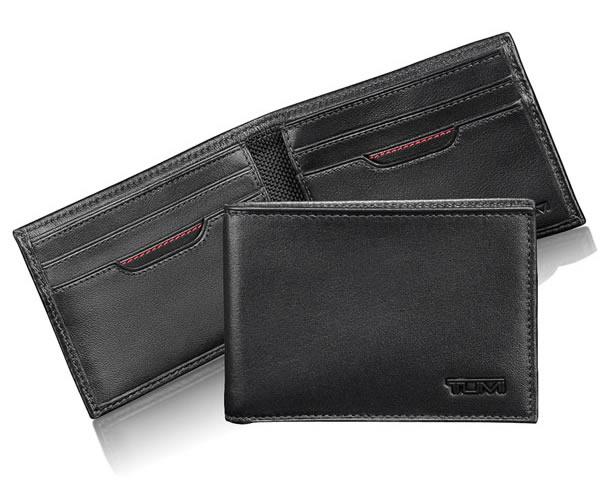 tumi delta slim wallet