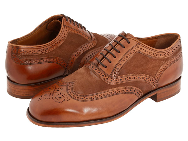 Florsheim Marlton Limited Cognac Leather with Suede