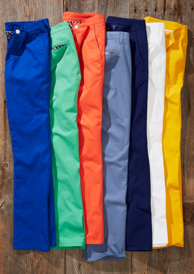 Bright Colorful Bonobos Chinos
