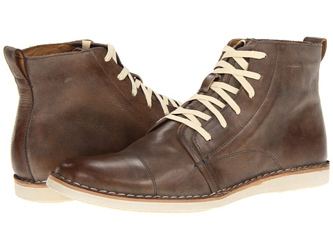 john varvatos brown barret boot denim