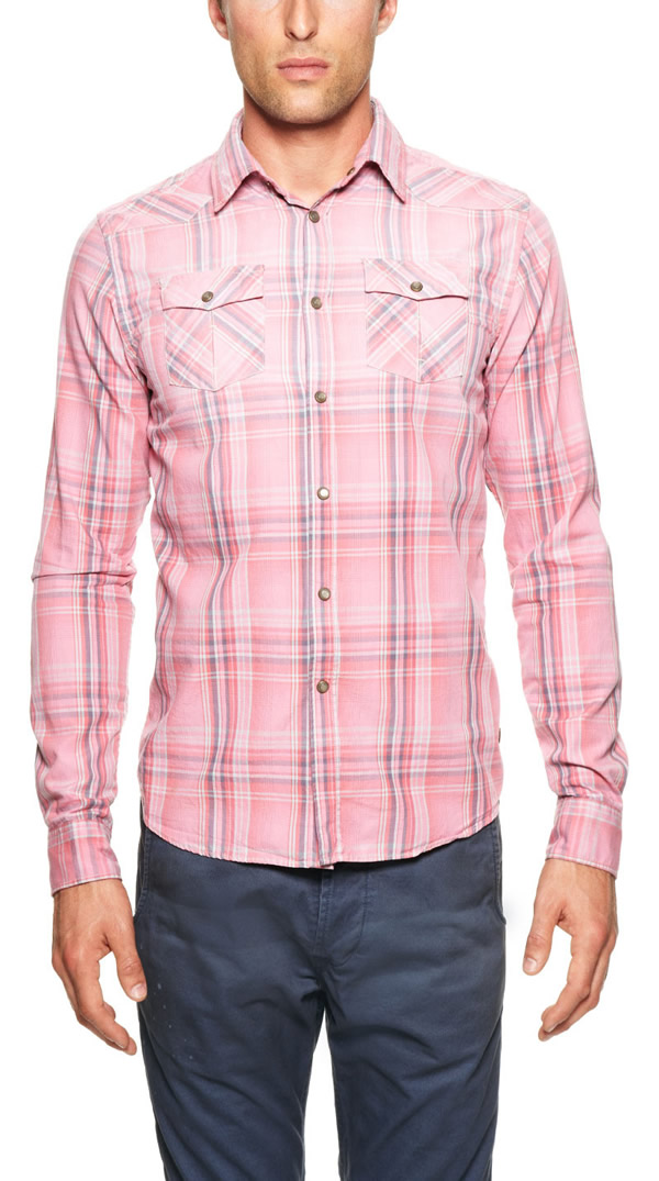 Mens Pink Shirts | Is Shirt