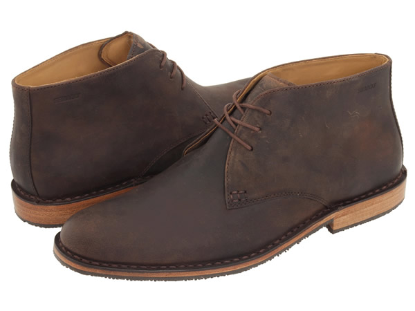 Leather Chukka Boots Men - Yu Boots