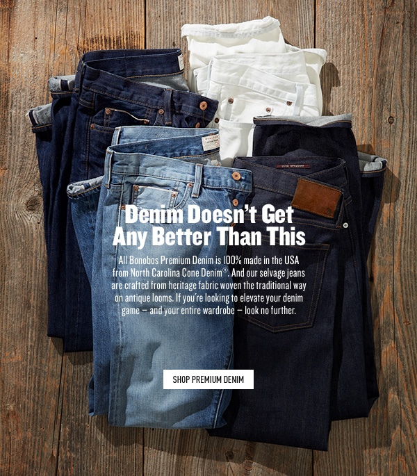 Bonobos Premium Denim Made in the USA
