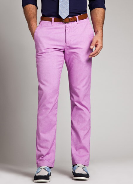 Mens Pants Purple