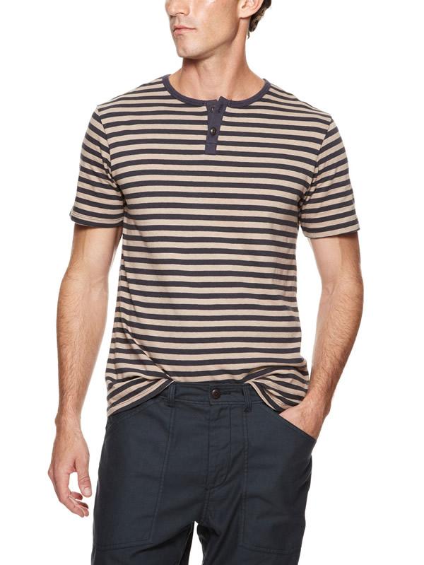mens fashion henley shirt