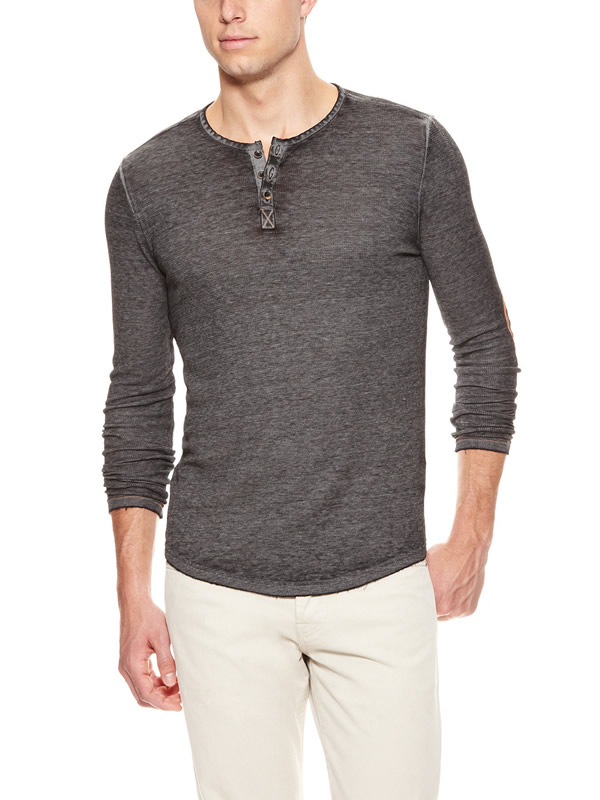 Men 39 s henley shirts mensfash for Mens collared henley shirt