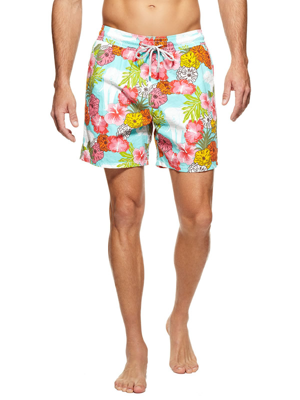 moorea men's swim trunks Vilebrequin