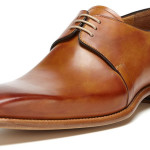 Carlos Santos Burnished Oxfords – Men's Dress Shoes