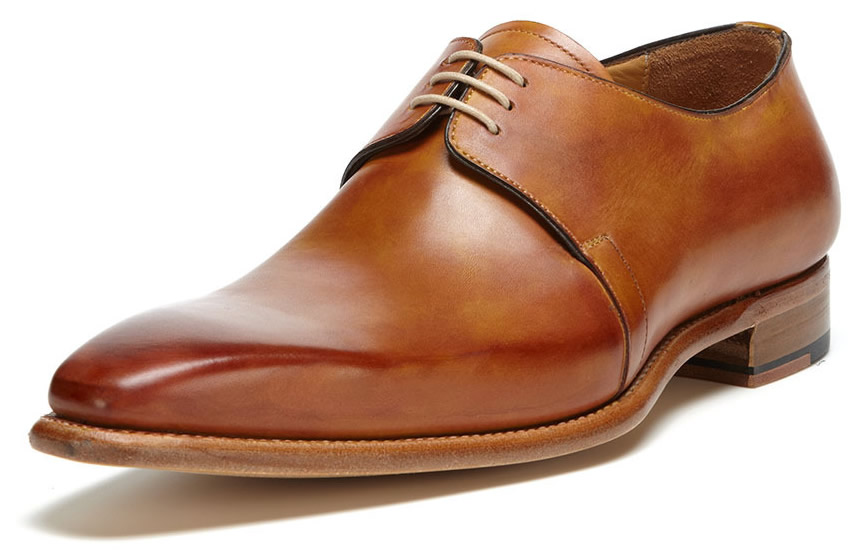 carlos santos burnished oxfords