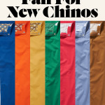 New Bonobos Washed Chinos Colors for Fall