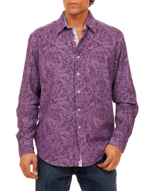 robert graham lathkin paisley sport shirt