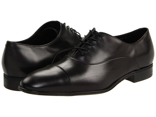 Ferragamo Mens Black Dress Shoes