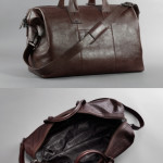 Kenneth Cole Roma Leather Weekend Bag