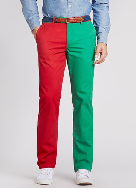 bonobos christmas pants red green men's chinos