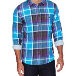 7 for All Mankind Plaid Sport Shirt
