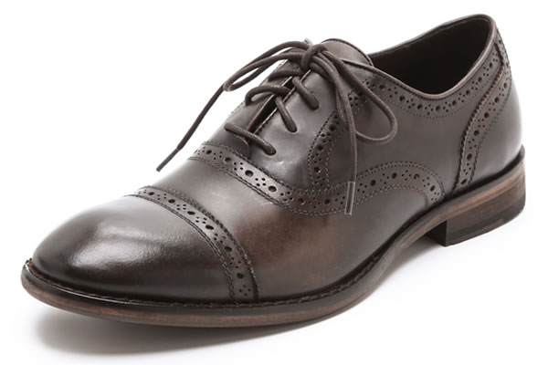 JOHN VARVATOS LACE-UP BROGUES