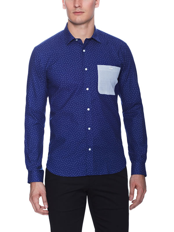 bespoken Patch Pocket Sport Shirt