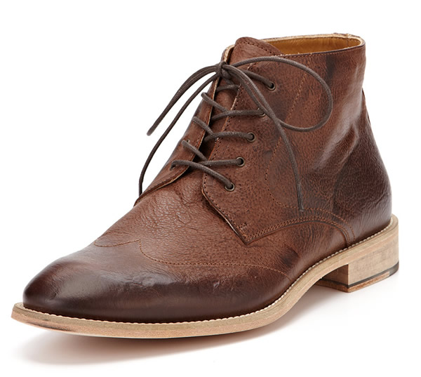 Mens Brown Leather Ankle Boots - Boot 2017