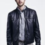 Cole Haan Vintage Lamb Moto Jacket