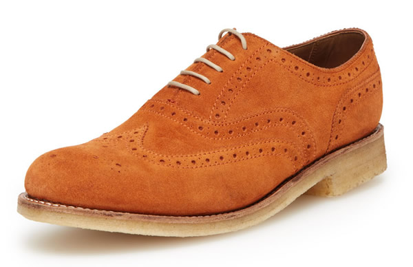 grenson stanley brogue men's shoes