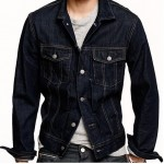 J. Crew Denim Jacket Dark Rinse Wash