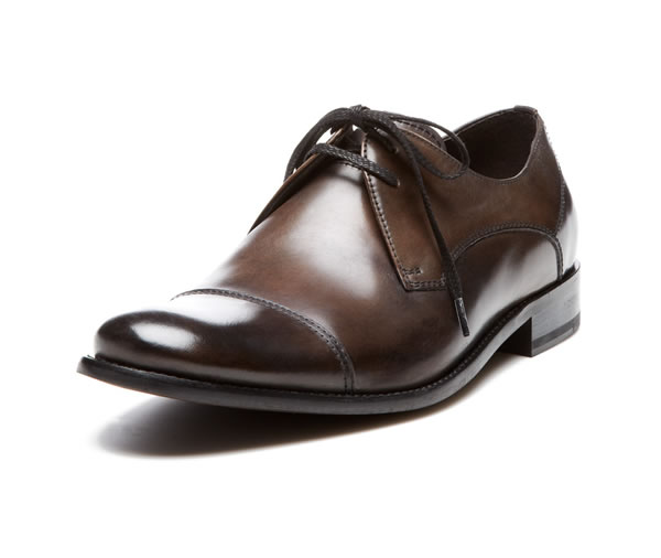 john varvatos dress cap toe shoe