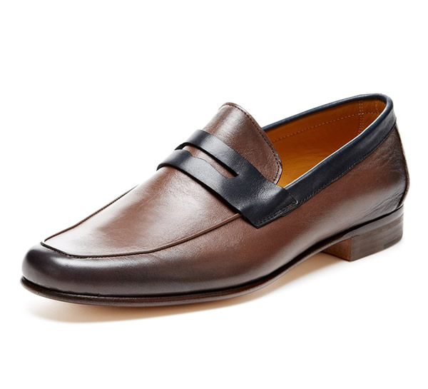 Nice Leather men's loafers