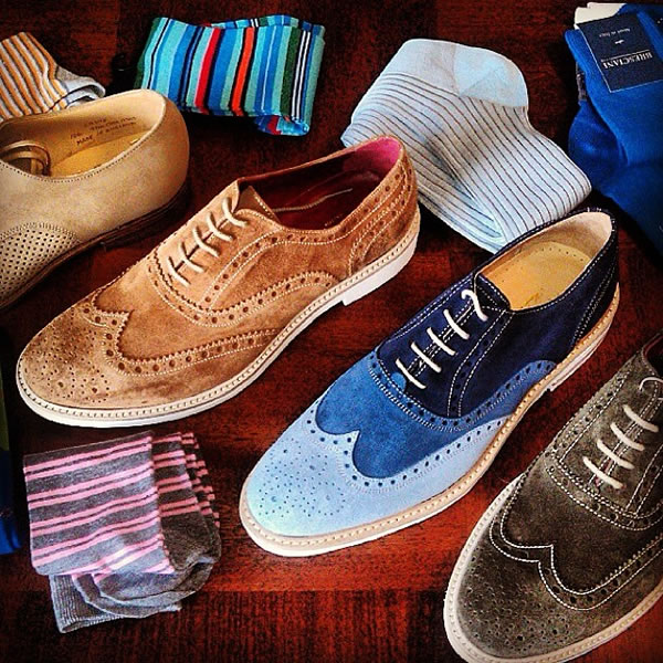 Men's Fashion and Style. Brogues and Socks