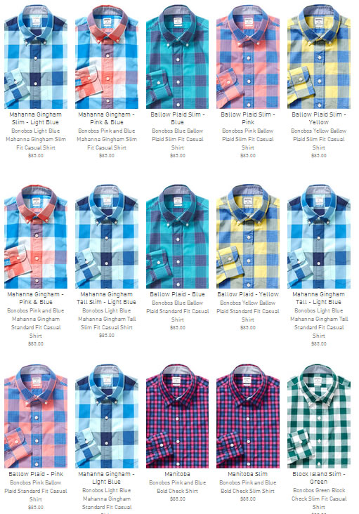 New Bonobos Men's Clothing for 2014