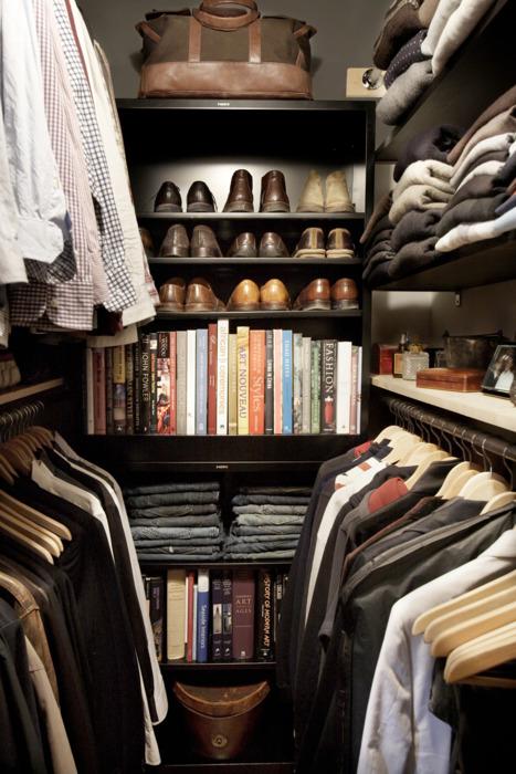 Perfect Man's Closet. Inspiration