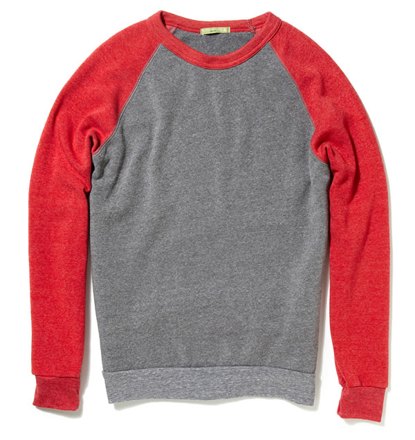 alternative apparel Champ Raglan Sweater