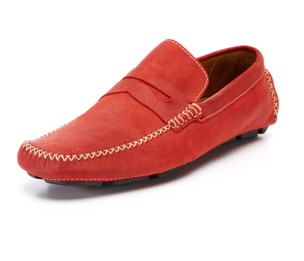 Billy Reid Suede Driving Loafer