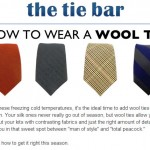 How to Wear a Wool Tie