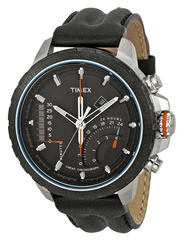 all type watch men classic leather waterbury strap shop watches by timex s browse chronograph
