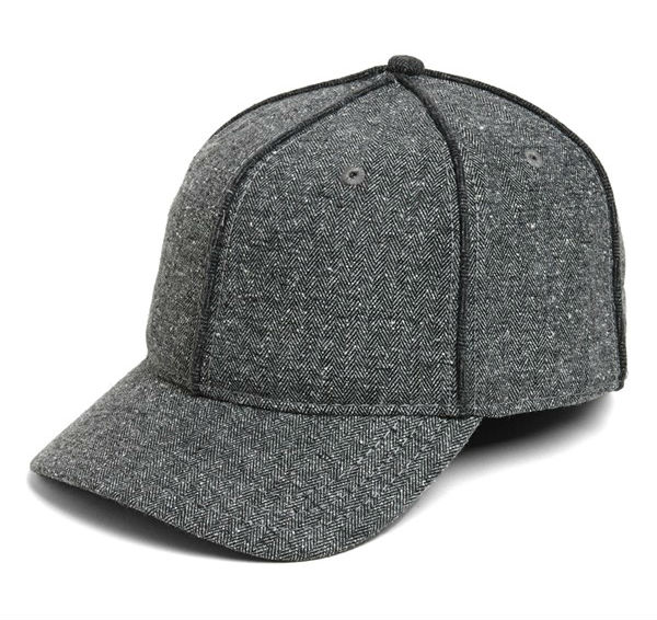 rag and bone Herringbone Baseball Cap