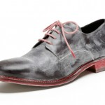 Bed|Stu Bonino Distressed Leather Lace-Ups
