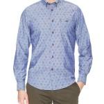Ben Sherman Blue Print Sport Shirt