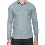 John Varvatos Cotton Pocket Sport Shirt