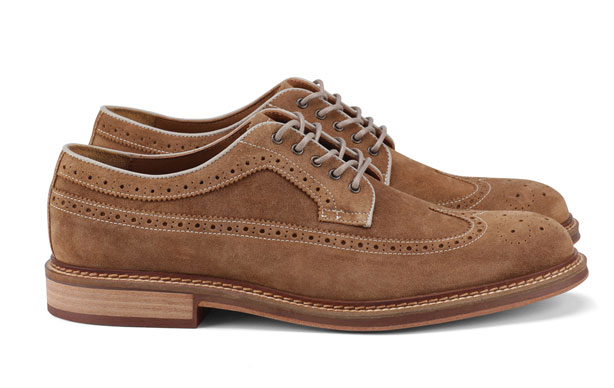 aldo ellias men's suede wingtips brogues