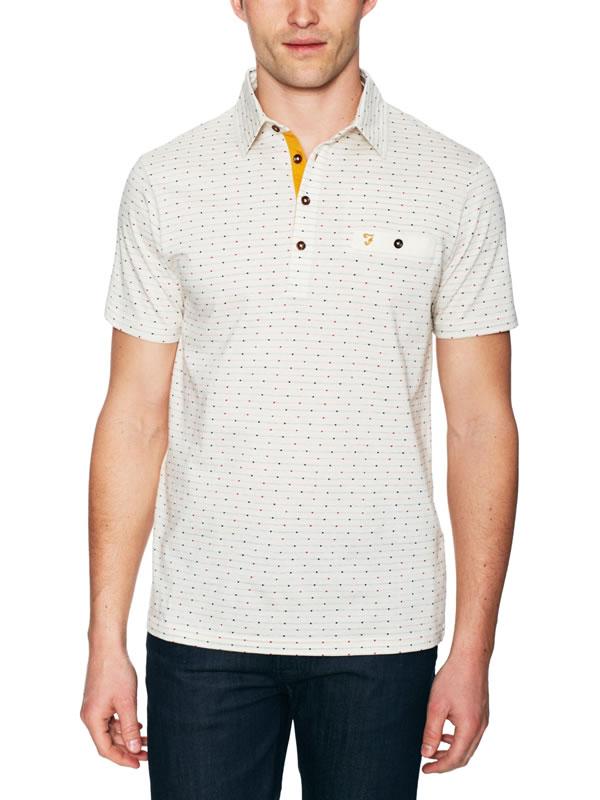 farah vintage rafi polo shirt 1